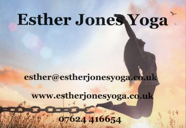 Esther Jones Yoga Advert