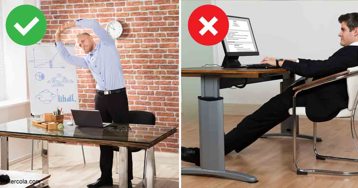 Sit Less - Stand More